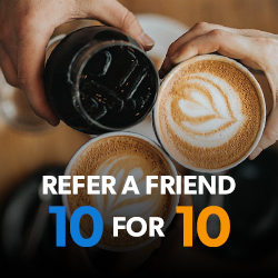 Refer a Friend 10 for 10