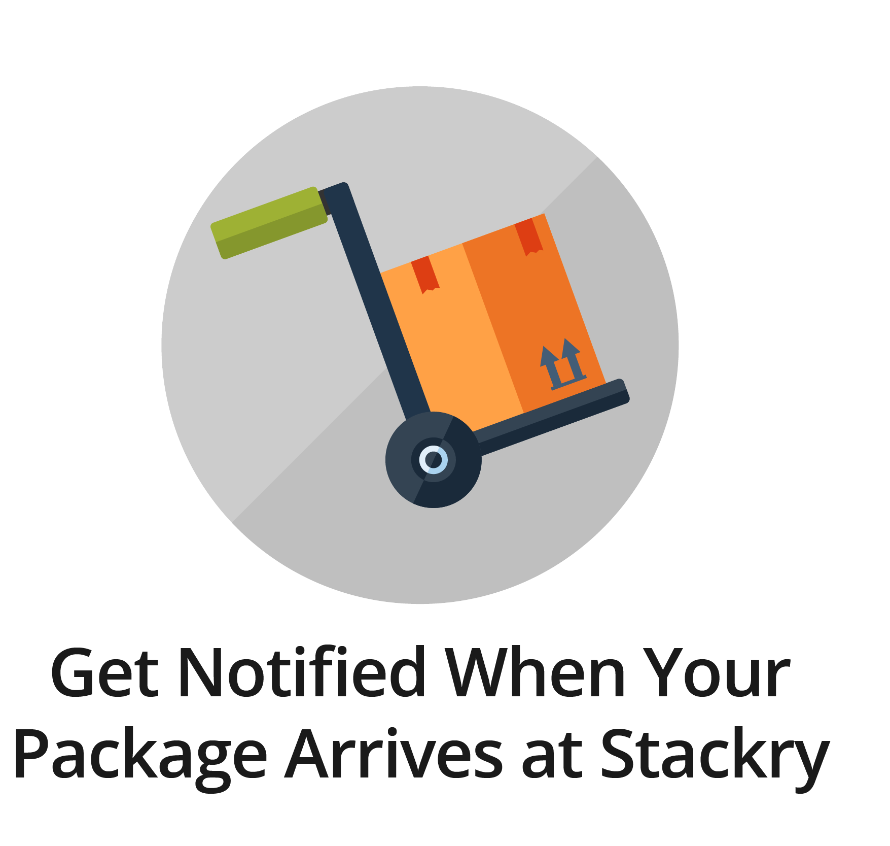 Get Notified When Your Package Arrives at Stackry